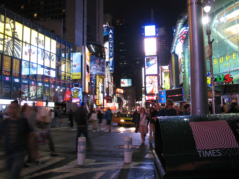 Times Square, Facing North