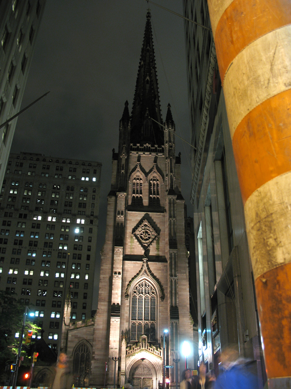 Trinity Church at Night